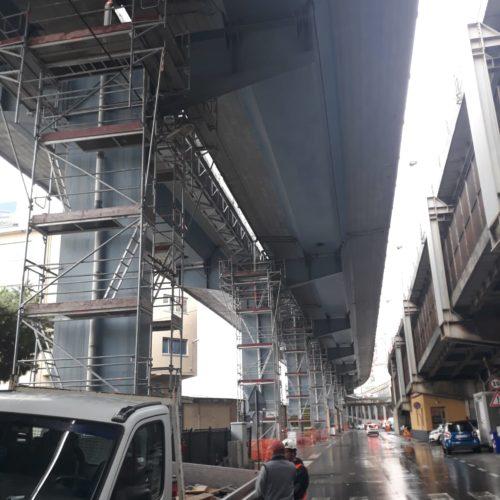 12 Ponteggioper piloni Viadotto autostradale Genova 500x500 - Referenzen
