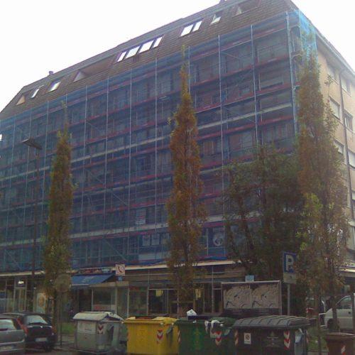 16 Ponteggio per ristrutturazione condominio Padova 500x500 - Referenzen