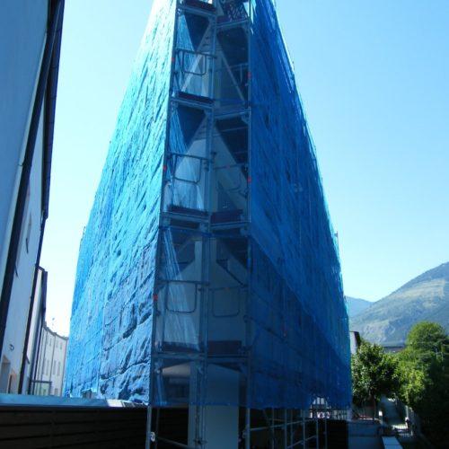 17 Ponteggio per risanamento condominio Silandro 500x500 - Referenzen