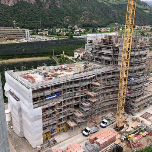 2 Ponteggi per cantieri nuova costruzione BZ 1 500x500 - Referenzen