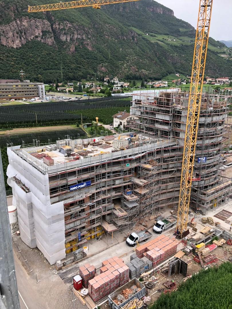 2 Ponteggi per cantieri nuova costruzione BZ - Ponteggi per edilizia e infrastrutture