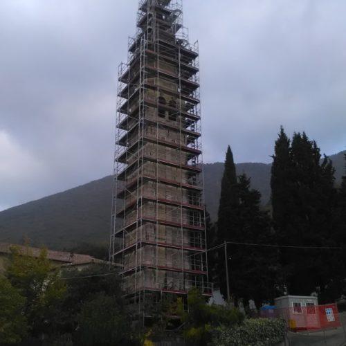 4 Restauro del campanile Borso del Grappa 500x500 - Restauro del campanile