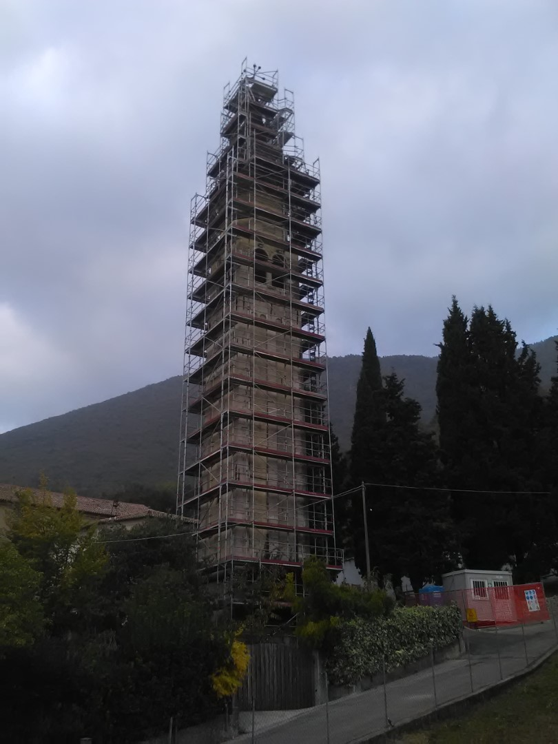 4 Restauro del campanile Borso del Grappa - Restauro del campanile