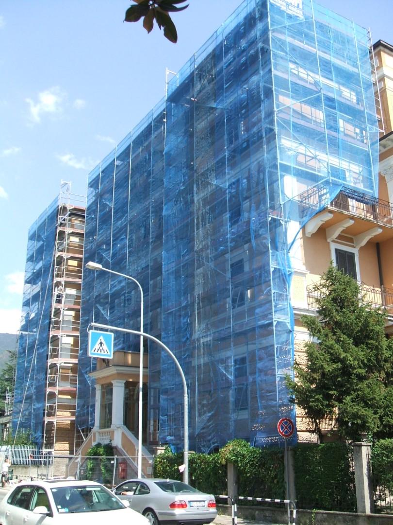 Convitto Via Fago BOLZANO - Ponteggi per edilizia e infrastrutture